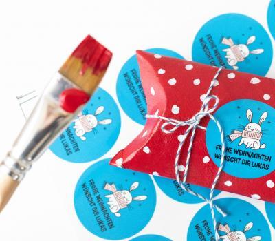 Kleine Weihnachtsgeschenke witzig verpackt