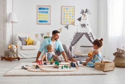 10 lustige Aktivitäten zu Hause, die man mit Kindern machen kann